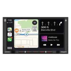 Dual DCPA701W 7-Inch Double-DIN In-Dash Digital Media Receiver with Bluetooth