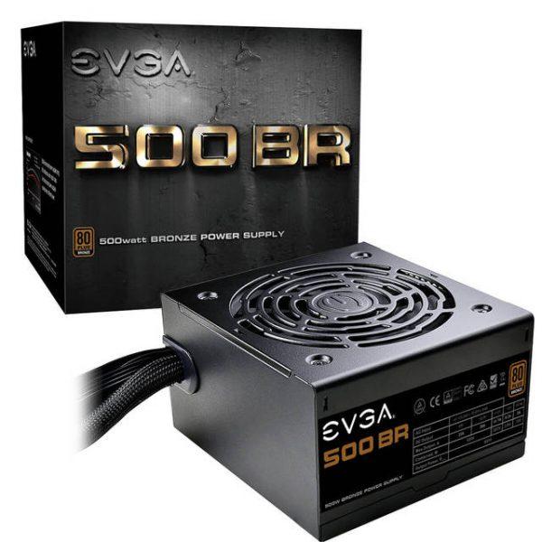 EVGA 500 BR 100-BR-0500-K1 500W 80 Plus Bronze ATX12V & EPS12V Power Supply