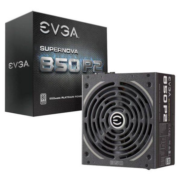 EVGA SuperNOVA 850 P2 220-P2-0850-X1 850W 80 PLUS Platinum ATX12V & EPS12V Power Supply