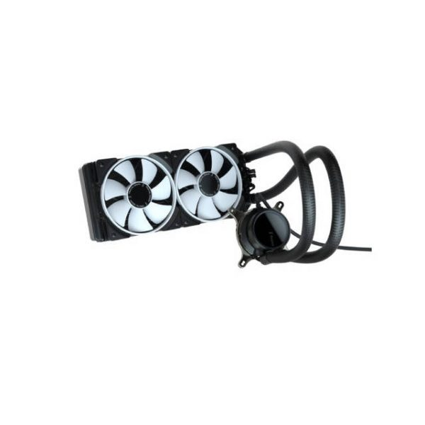 Fractal Design Celsius+ S24 Prisma PWM ARGB 240mm Silent Performance Slim Radiator AIO CPU Liquid/Water Cooler