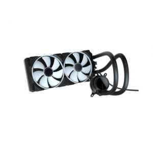Fractal Design Celsius+ S28 Prisma PWM ARGB 280mm Silent Performance Slim Radiator AIO CPU Liquid/Water Cooler