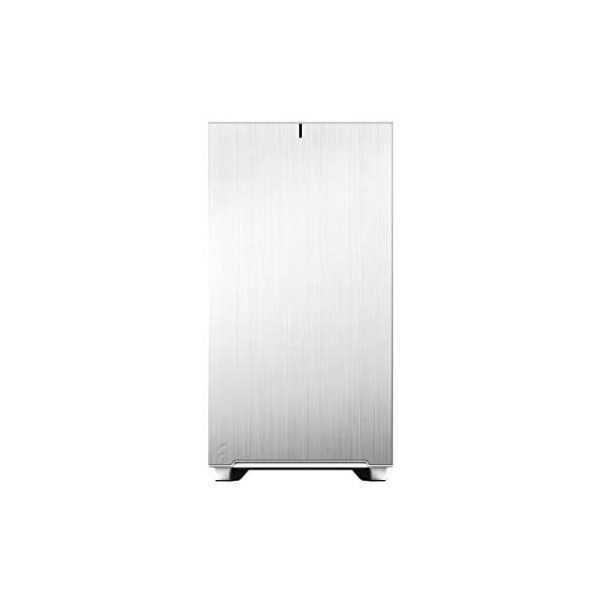 Fractal Design FD-C-DEF7A-06 Define 7 White TG Clear Tint /Brushed Aluminum/Steel E-ATX Silent Modular Tempered Glass Window Mid Tower Computer Case