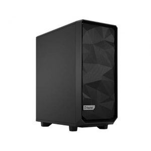 Fractal Design FD-C-MES2C-01 Meshify 2 Compact Black Solid ATX Mid Tower Computer Case (Black)