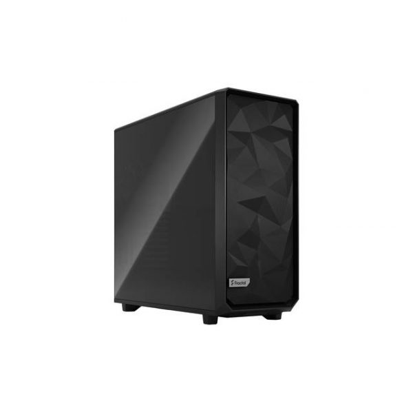 Fractal Design FD-C-MES2X-01 Meshify 2 XL Black ATX Flexible Dark Tinted Tempered Glass Window Full Tower Computer Case (Black)