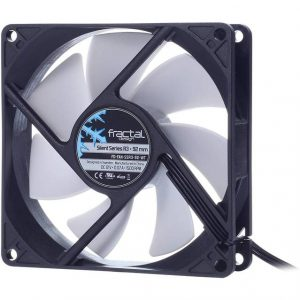 Fractal Design FD-FAN-SSR3-92-WT Silent Series R3 92mm Case Fan