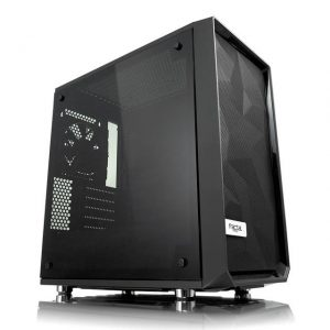 Fractal Design Meshify C Mini Dark TG No Power Supply MicroATX Case