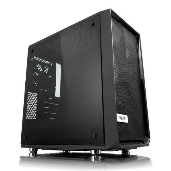 Fractal Design Meshify C Mini Dark TG No Power Supply MicroATX Case