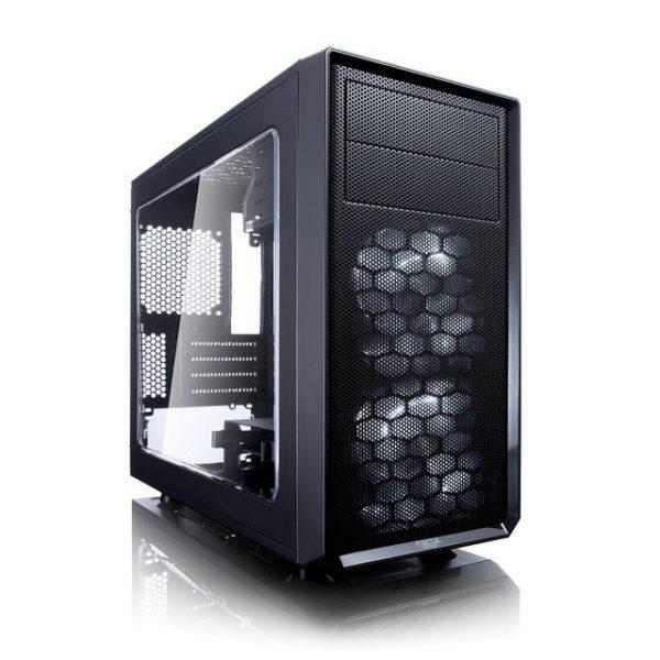 Fractal Focus G Mini No Power Supply MicroATX Case w/ Window (Black)