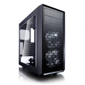 Fractal Focus G No Power Supply ATX Mid Tower w/ Window (Black)
