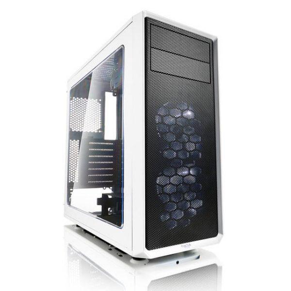 Fractal Focus G No Power Supply ATX Mid Tower w/ Window (White)