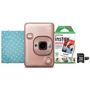 Fujifilm 600021181 instax Mini LiPlay (Blush Gold)