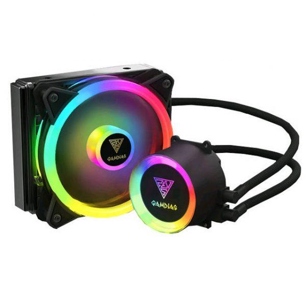 GAMDIAS CHIONE E2A-120R All-In-One CPU Liquid Cooler for LGA2066/ 2011_v3/ 2011/ 1151/ 1150/ 1155/ 1156/ 1366/ 775 & AMD Socket AM4/ AM3+/ AM3/ AM2+/ AM2/ FM2+/ FM2/ FM1/LGA1200