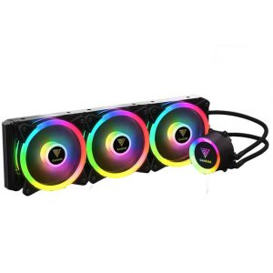 GAMDIAS CHIONE P12-360R All-In-One Liquid CPU Cooler for LGA2066/2011-v3/2011/1151/1150/1155/1156/1366/775/AM4/AM3+/AM3/AM2+/AM2/FM2+/FM2/FM1/ TR4