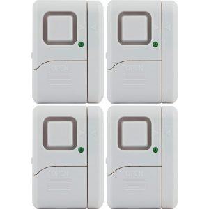 GE 45174 Magnetic Indoor Window Alarms (4 pk)
