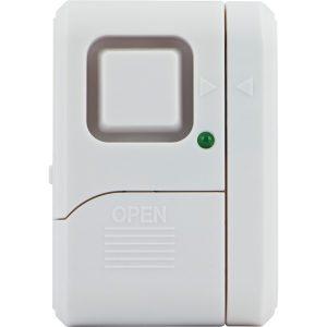 GE 56789 Magnetic Window Alarm with On/Off Indicator Light (Single)