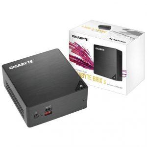 GIGABYTE GB-BRI5H-8250 Intel Core i5-8250U 3.4GHz/ WiFi/ A&V&GbE/ Mini PC Barebone System