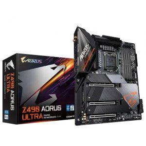 GIGABYTE Z490 AORUS ULTRA Socket LGA1200/ Intel Z490/ DDR4/ 2-Way SLI & 2-Way CrossFire/ SATA3&USB3.2/ M.2/ WiFi/ ATX Motherboard