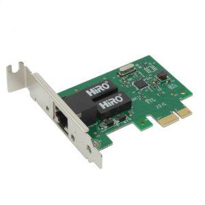 HiRO H50304 Low Profile Internal PCI-Express Gigabit Ethernet Card
