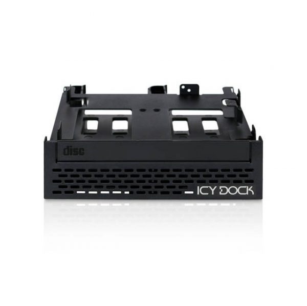 ICY DOCK FLEX-FIT Quinto MB344SPO Tool-less 4x 2.5 inch SSD / HDD & Slim / Ultra-Slim ODD Mounting Bracket for 5.25 inch Bay
