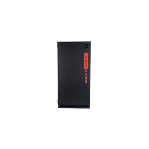 In-Win 301 BLACK No Power Supply Mini-ITX Case (Black)