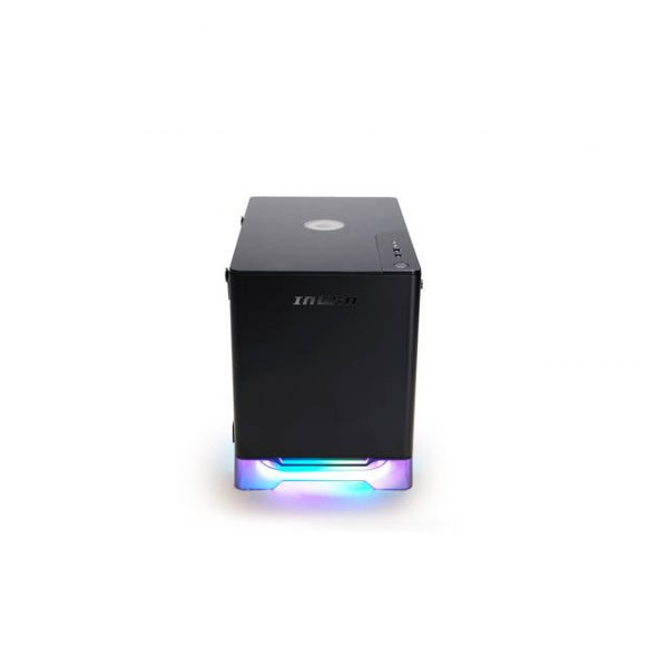 In-Win A1 PLUS BLACK Mini-ITX Tower with Integrated ARGB Lighting - 650W Gold Power Supply