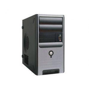 In-Win Z583.CH350TB3 350W TAC 2.0 MicroATX Mini Case (Black/Silver)