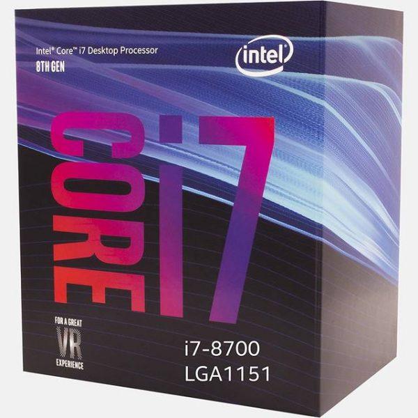 Intel Core i7-8700 Coffee Lake Processor 3.2GHz 8.0GT/s 12MB LGA 1151 CPU