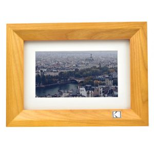 KODAK RDPF-700W 7 inch Digital Photo Frame (BURLYWOOD)