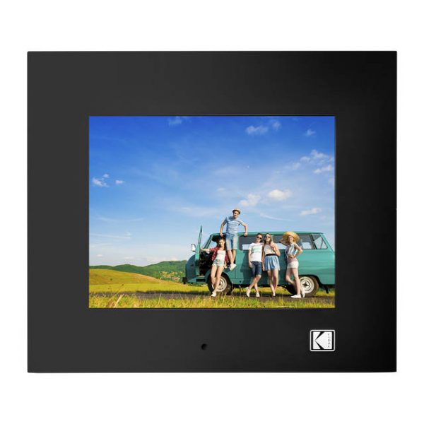 KODAK RDPF-802W 8 inch Multi-function Digital Photo Frame (Black)