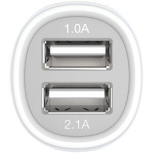 Kanex CLA2PORT 2.1-Amp 2-Port USB Car Charger