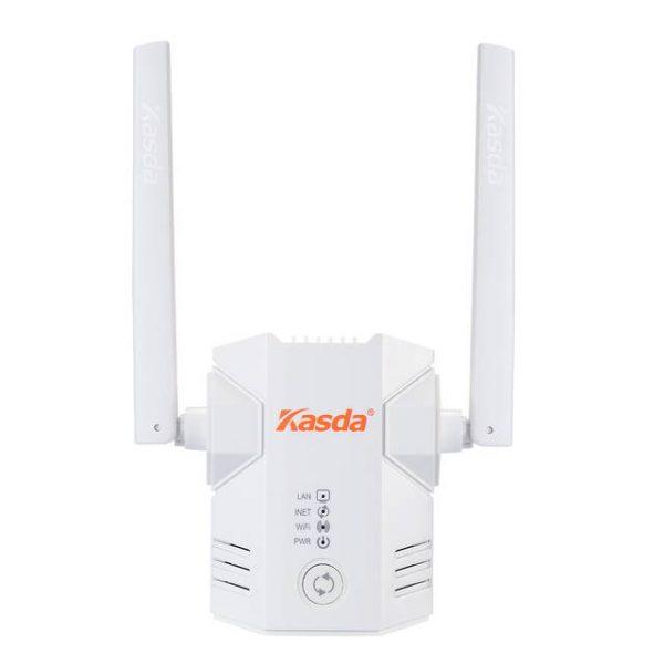 Kasda KW5583 300Mbps Wi-Fi Range Extender w/ 2x External 3dBi Antennas