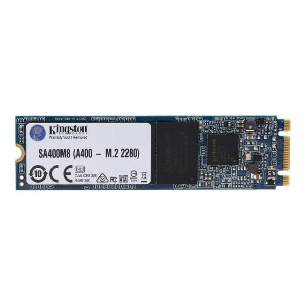 Kingston A400 480GB M.2 2280 SATA3 Solid State Drive (3D NAND)