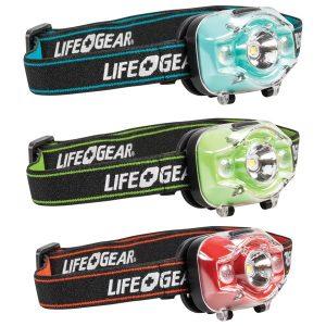Life+Gear 41-3913 275-Lumen Advanced Glow LED Headlamp