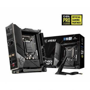 MSI MEG Z490I UNIFY LGA1200/ Intel Z490/ DDR4/ SATA3&USB3.2/ M.2/ WiFi&Bluetooth/ Mini-ITX Motherboard