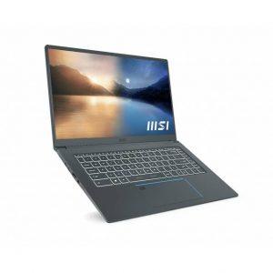 MSI Prestige 15 A11SCX-211 15.6 inch Intel Core i7-1185G7 1.2-4.8GHz/ 32GB (16G*2) DDR4/ 1TB NVMe SSD/ GTX 1650 MAX-Q/ USB3.2/ Windows 10 PRO Laptop (Carbon Gray)