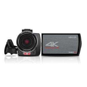 Minolta MN4K20NV MN4K20NV 4K Ultra HD IR Night Vision Camcorder