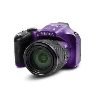 Minolta MN67Z-P MN67Z 20.0-Megapixel 1080p Full HD 67x Optical Zoom Wi-Fi Bridge Camera (Black)