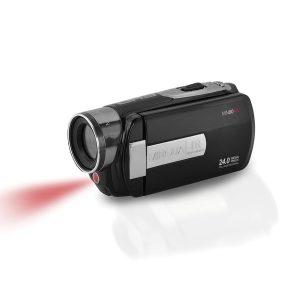 Minolta MN80NV-BK MN80NV Full HD 1080p IR Night Vision Camcorder (Black)