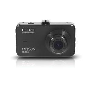 Minolta MNCD36-BK MNCD36 1080p Full HD Dash Camera with 3-Inch LCD Screen (Black)