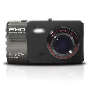 Minolta MNCD42-BK MNCD42 1080p Full HD Dash Camera with 4-Inch LCD Screen (Black)