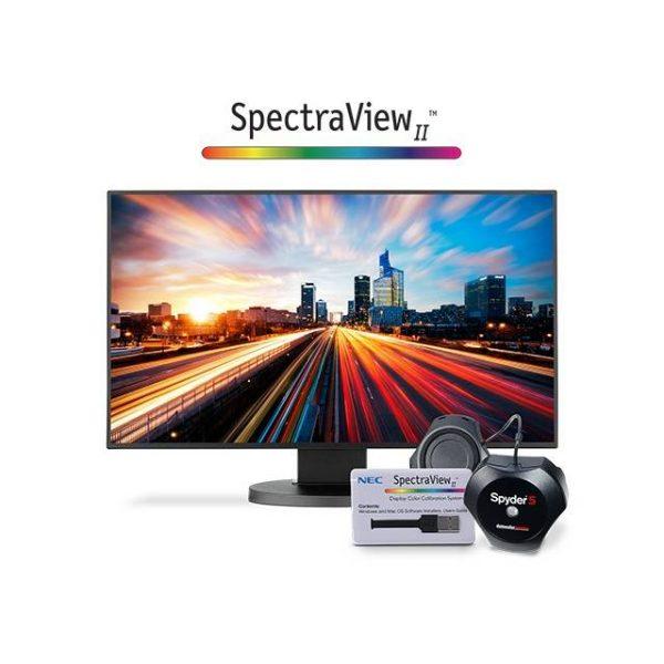 NEC EX241UN-BK-SV 24 inch Widescreen 1