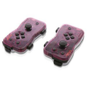 Nyko 87269 Dualies Motion Controller Set for Nintendo Switch (Purple)