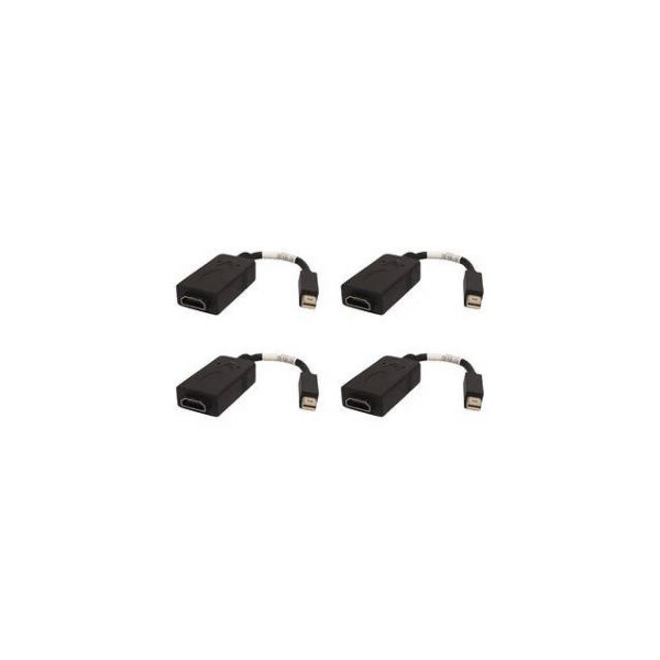 PNY MDP-HDMI-FOUR-PCK HDMI/Mini DisplayPort Audio Video Cable