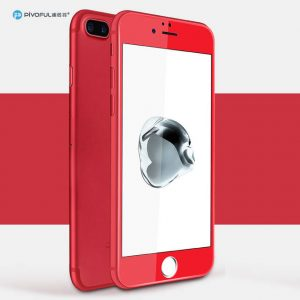 Pivoful PIV-I7TGR iPhone7 3D Tempered Glass Film (Red)