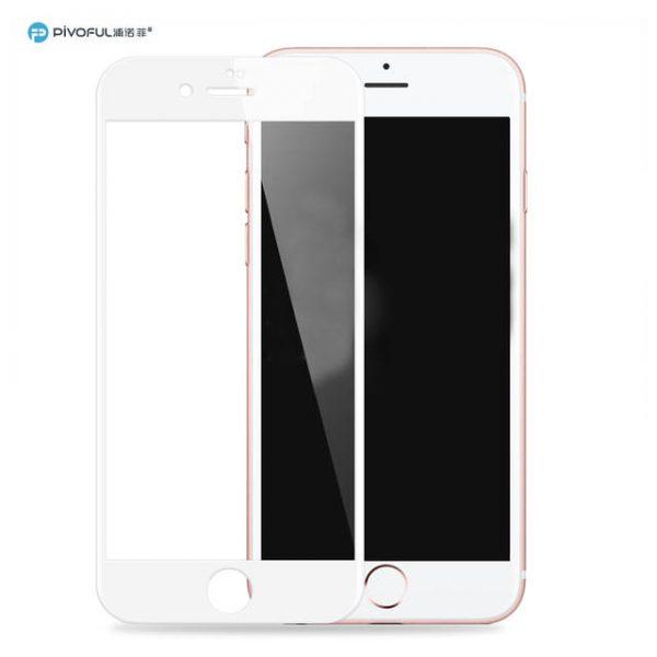 Pivoful PIV-I7TGW iPhone7 3D Tempered Glass Film (White)