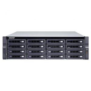 QNAP TS-1683XU-RP-E2124-16G-US Intel Xeon E-2124 3.3GHz/ 16GB DDR4/ 6GbE/ 16SATA/ USB3.1/ 16-Bay 3U Rackmount NAS for Enterprise