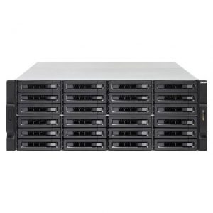 QNAP TS-2483XU-RP-E2136-16G-US Intel Xeon E-2136 3.3GHz/ 16GB DDR4/ 6GbE/ 24SATA/ USB3.1/ 24-Bay 4U Rackmount NAS for Enterprise