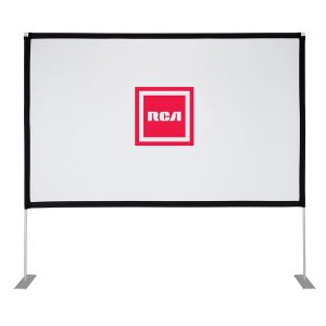 RCA RPJ144 Indoor/Outdoor 100-Inch-Diagonal Portable Projector Screen