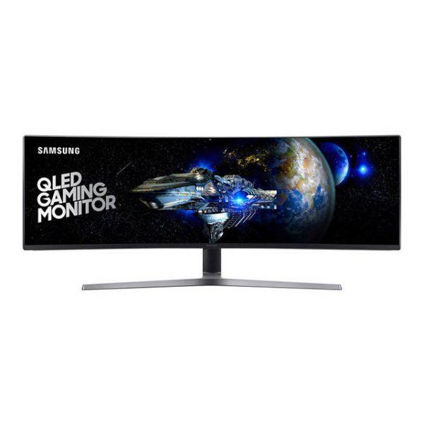 Samsung CHG90 Series C49HG90DMN 49 inch 3000:1 1ms HDMI/DisplayPort/Mini DisplayPort/USB LED LCD Monitor (Charcoal Black and Titanium)