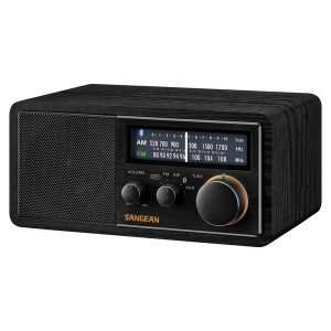 Sangean SG-118 Retro AM/FM Bluetooth Wooden Cabinet Radio